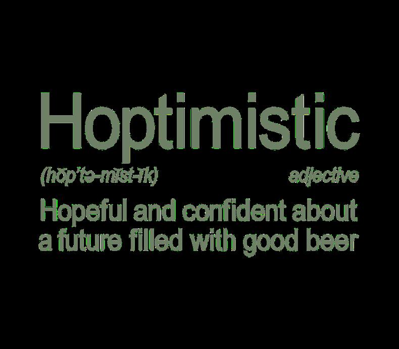 Hoptimistic Beer