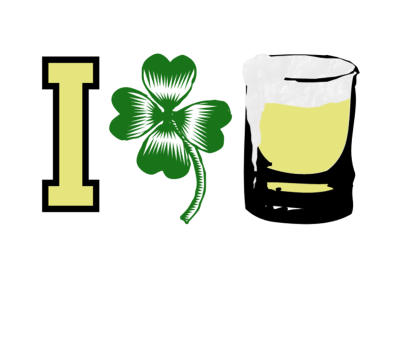 I Clover Beer Irish Love