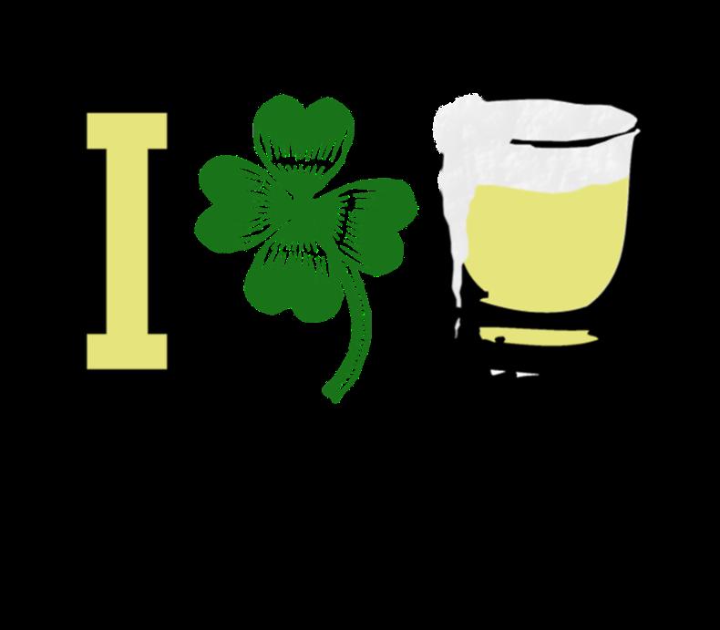 I Clover Beer Irish Love