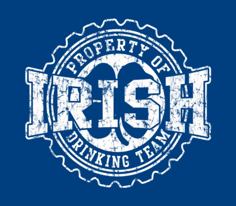 Irish Drinking Team Bottle Cap