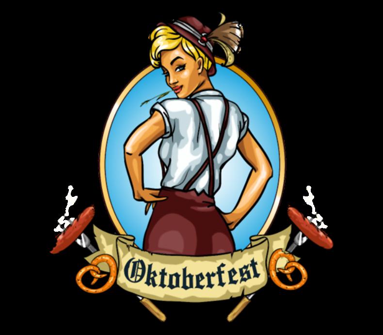 Oktoberfest Girl Emblem