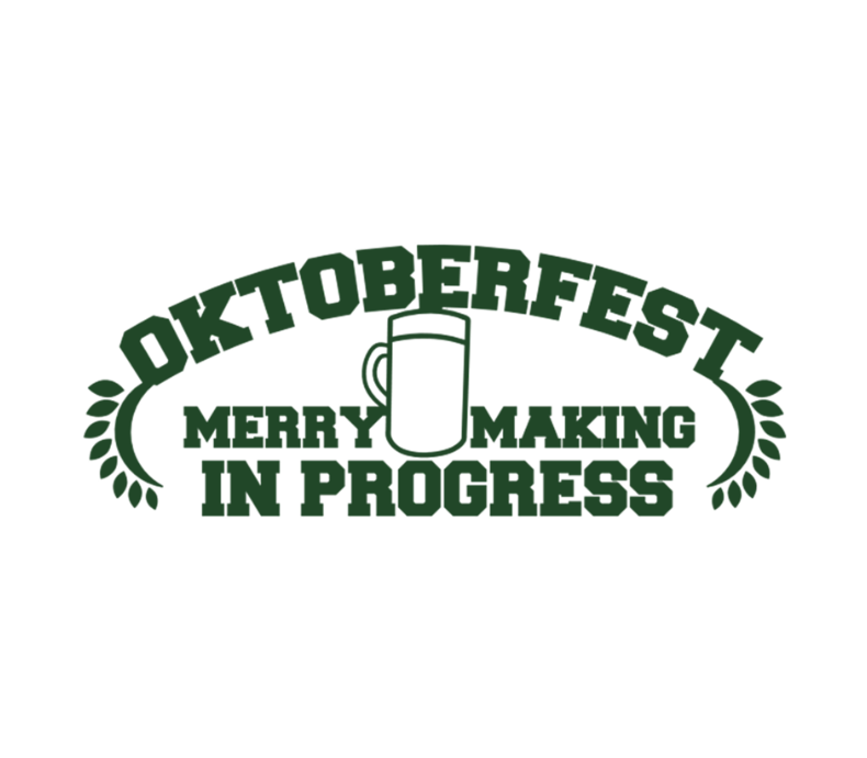 Oktoberfest Merry Making In Progress
