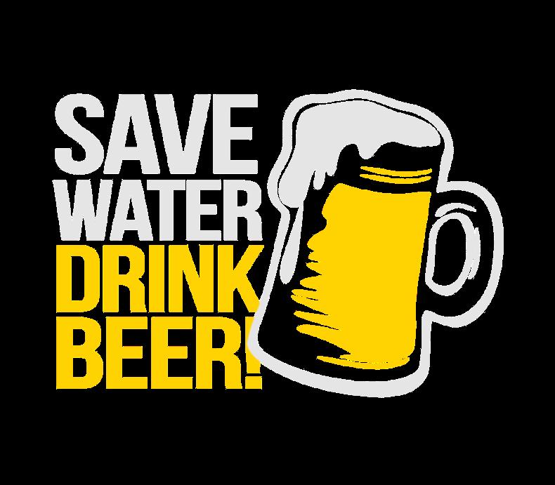 Save Water Drink Beer Beer Label By Bottleyourbrand