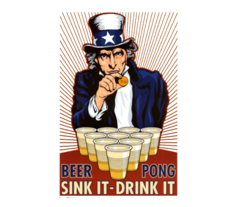 Uncle Sam Beer Pong