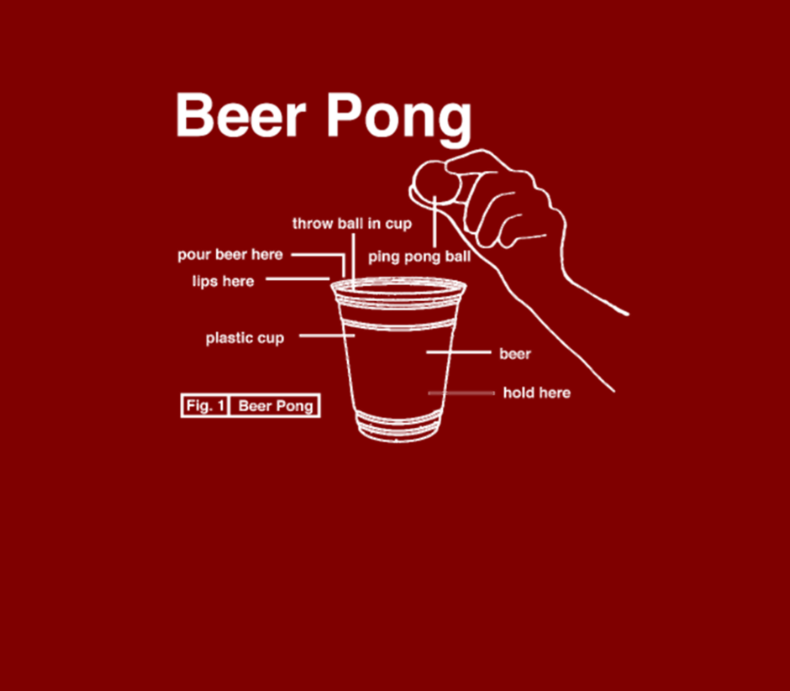 22 Jump Beer Pong Diagram Men