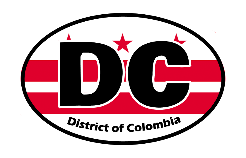 District Of Colombia State Flag