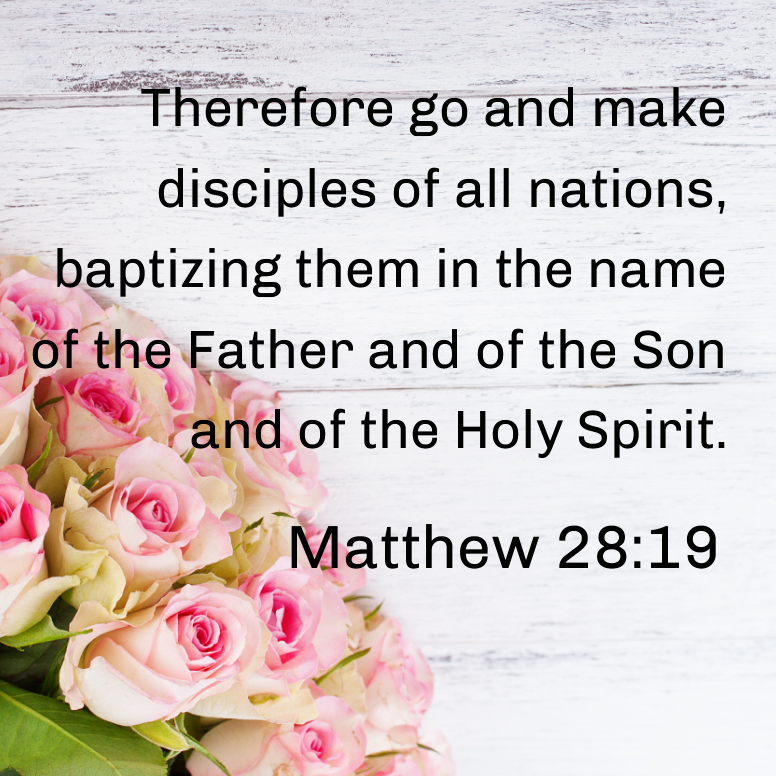 Matthew 28 Therefore Go And Make Disciples