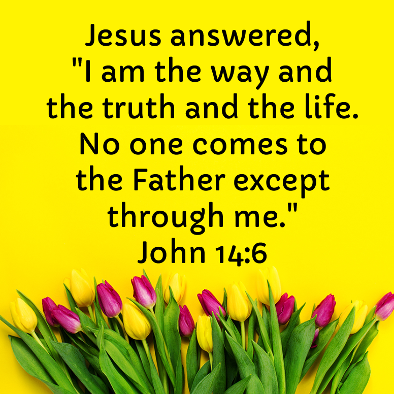John 14 I Am The Way And The Truth And The Life