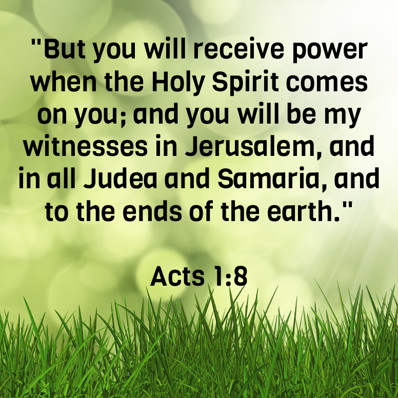 Acts 1 But You Will Receive