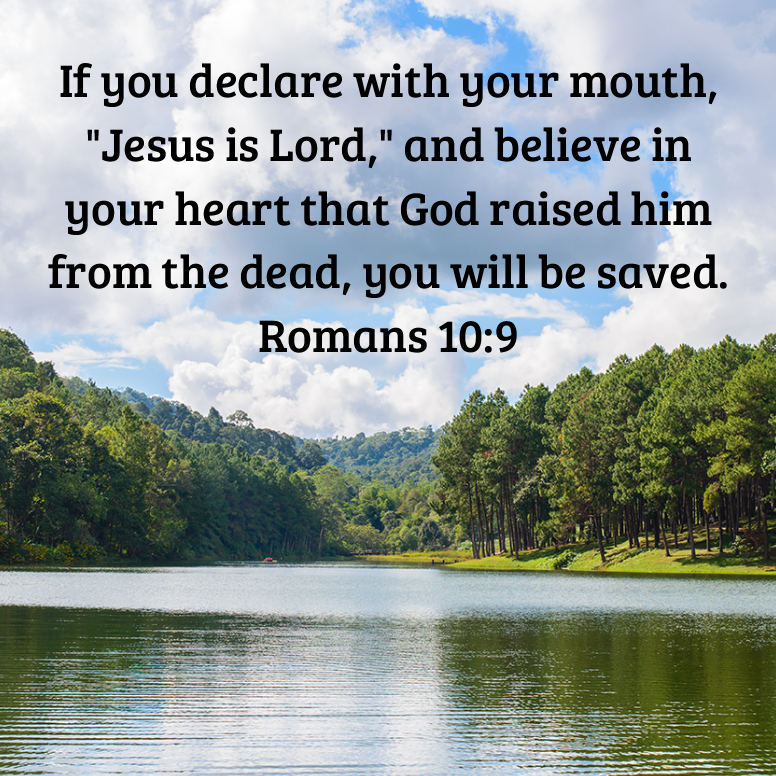 Romans 10 If You Declare With Your Mouth