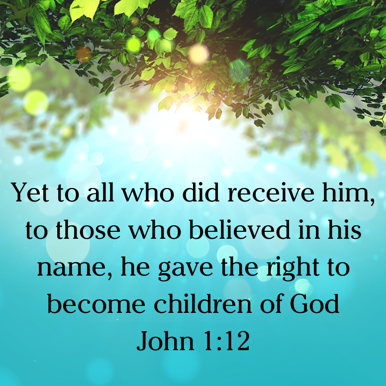 John 1 Yet To All Who Did Receive Him