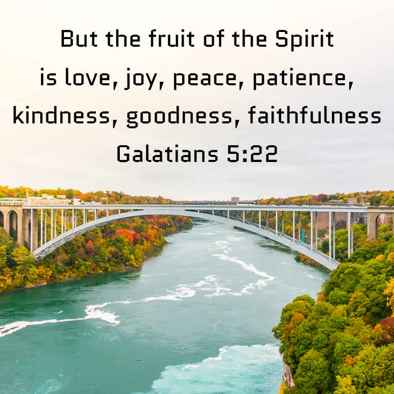 Galatians 5 But The Fruit Of The Spirit Is Love