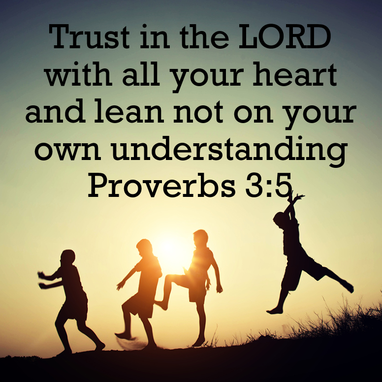 Proverbs 3 Trust In The LORD