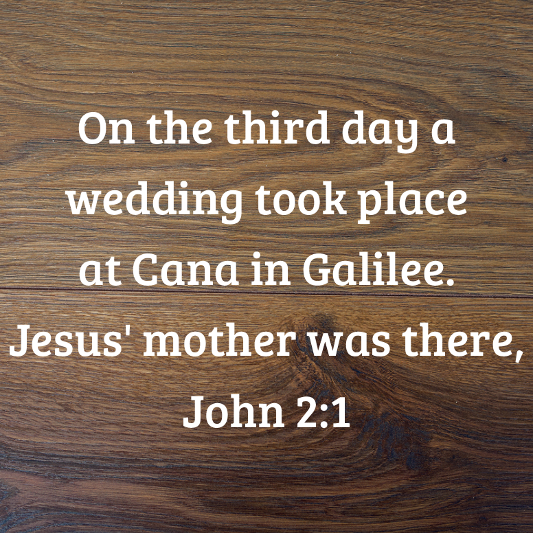 John 2 On The Third Day