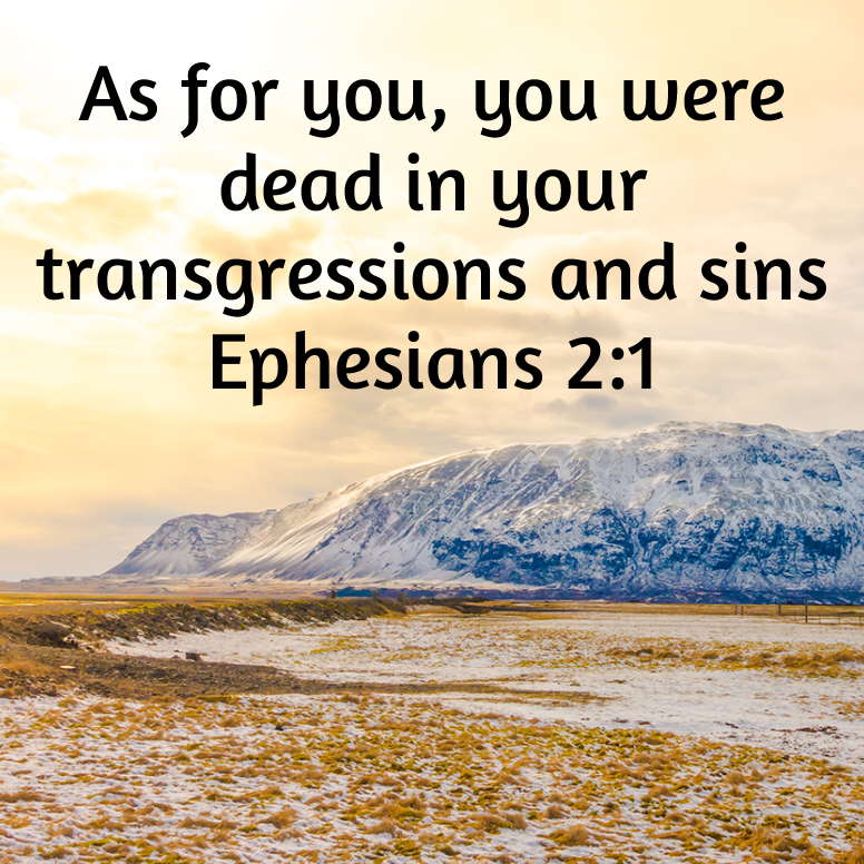 Ephesians 2 As For You You Were Dead