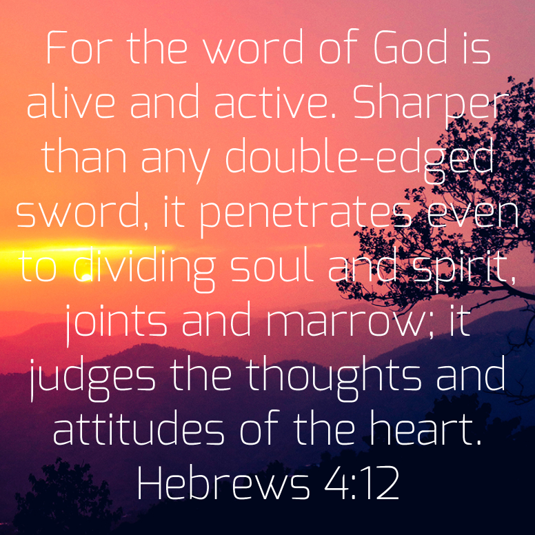 Hebrews 4 For The Word Of God