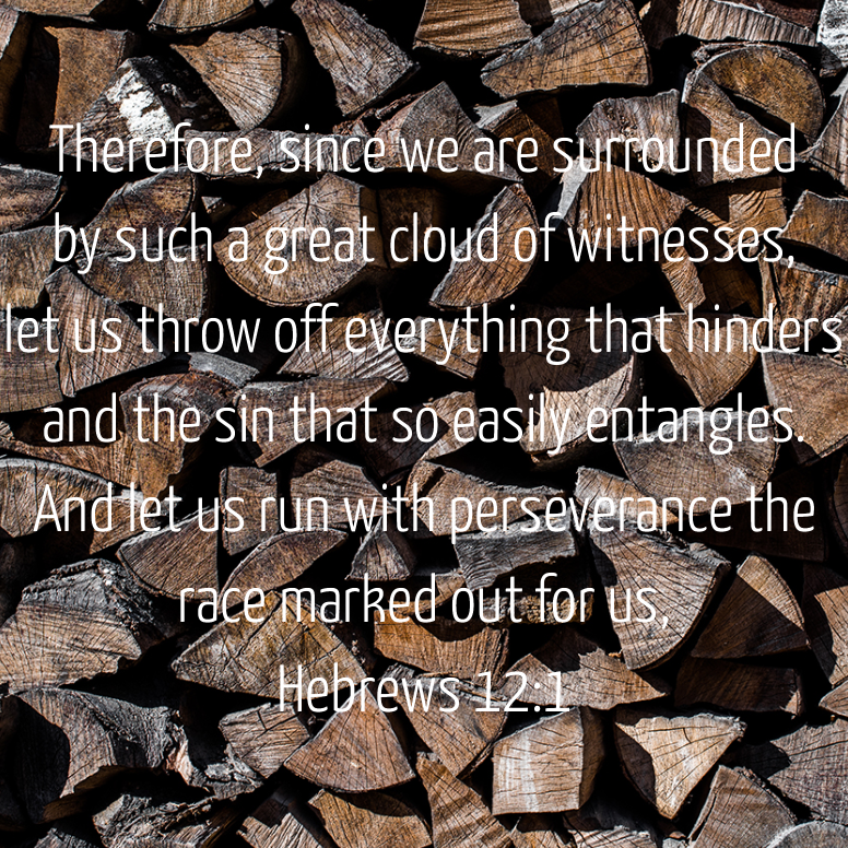 Hebrews 12 Therefore Since We Are Surrounded