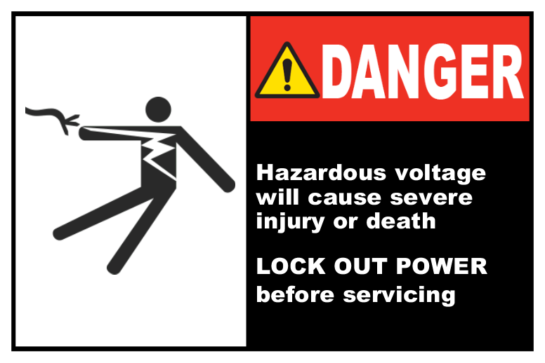 Hazardous Voltage Lock-Out
