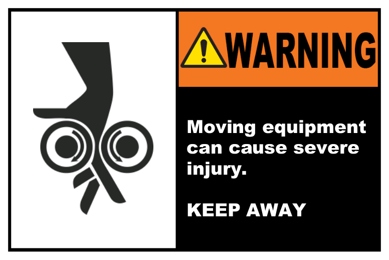 Moving Equipment Keep Away