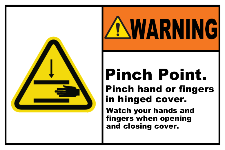 Pinch Point Watch Your Hands