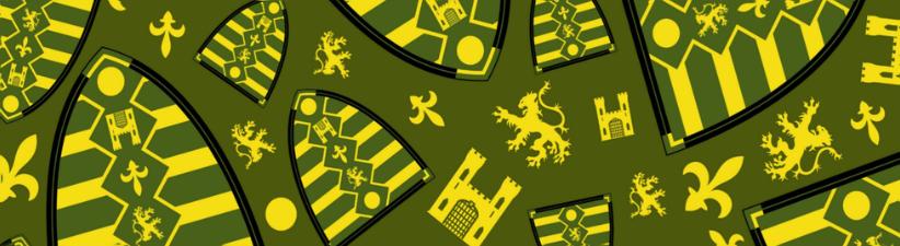 Medieval Knights Shield Pattern