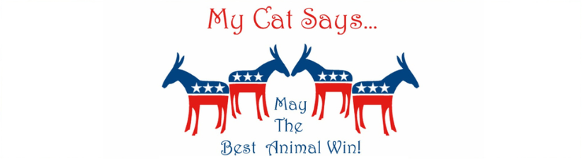 My Cat Says Democrat