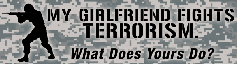 My Girlfriend Fights Terrorism Military