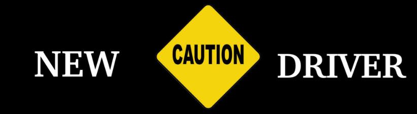 New Driver Warning
