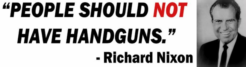 Nixon Anti Gun