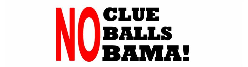 No Balls Anti Obama