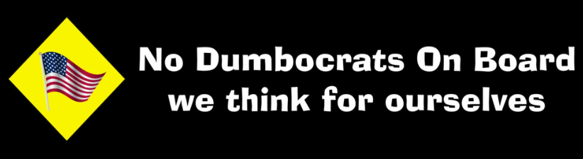 No Dumbocrats On Board