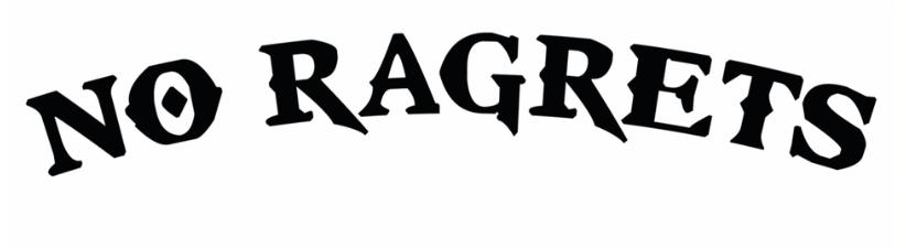 No Ragrets Mispelled Regrets Tattoo
