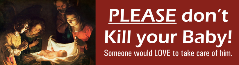 Please Don'T Kill Your Baby