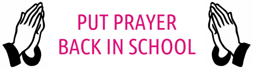 Put Prayer Back In School
