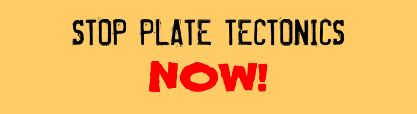 Stop Plate Tectonics