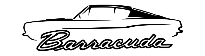 1967 69 Plymouth Barracuda Muscle Car Design