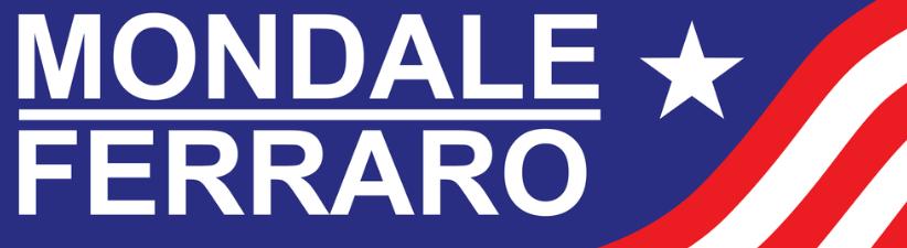 1984 Mondale Ferraro Campaign