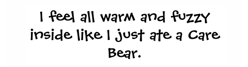Ate A Care Bear