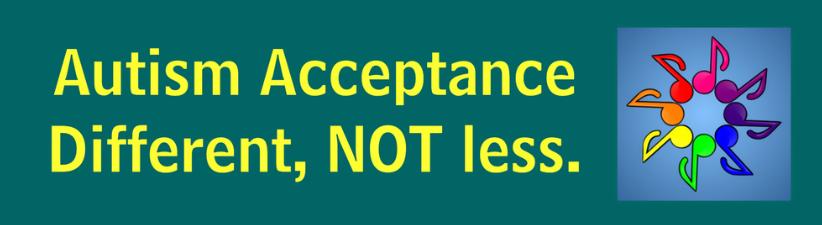 Autism Acceptance Different Not Less