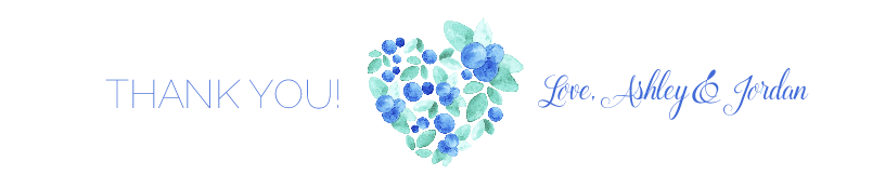 Blue Berry Heart