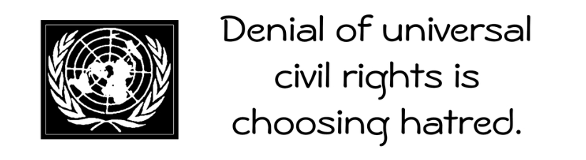 Choose Universal Civil Rights
