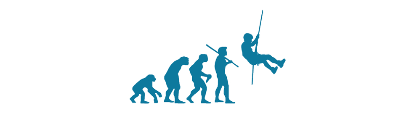 Climbing Rappelling Evolution