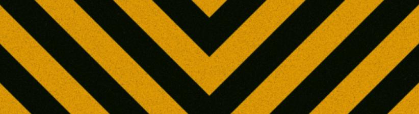 Construction Hazard Striped Texture