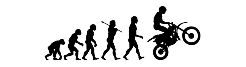 Dirt Bike Motocross Moto Evolution
