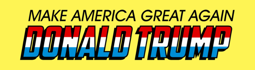 Donald Trump Make America Great Again Super Hero