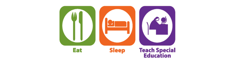 Eat Sleep Teach Special Education