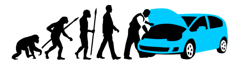 Evolution Of One Car Car Mechanic