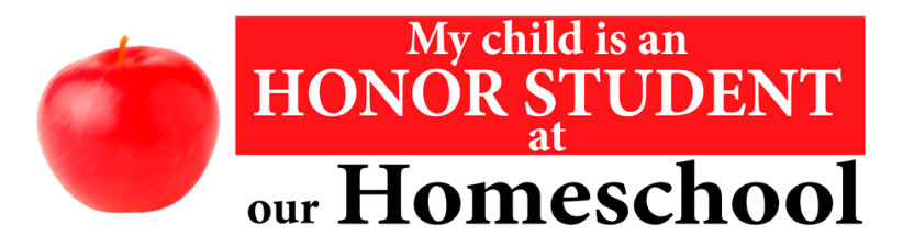 Homeschool Honor Student