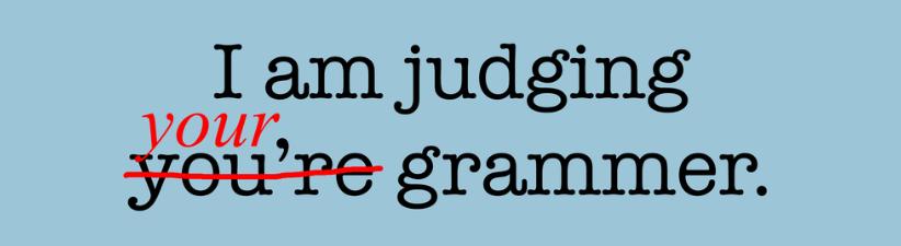 Humorous Grammar Police