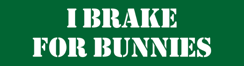 I Brake For Bunnies